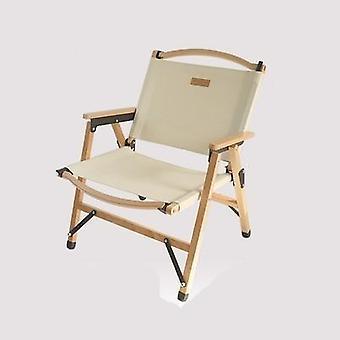 Outdoor klapstoel hout ontspannen camp stoelen
