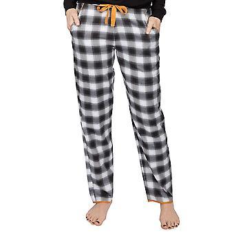 Cyberjammies Annie 4994 Women's Charcoal Check Pyjama Pant