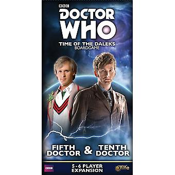 Doctor Who Time of the Daleks – Fifth Doctor & Tenth Doctor