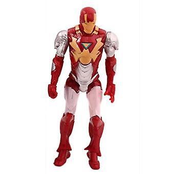 (Iron Man) Kids Marvel Avengers Super Hero Figures Toys Cake Toppers Hulk Batman Super Man