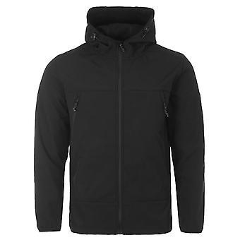 Forty Shelba Softshell Hooded Jacket - Black