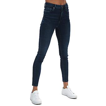 Women's Vero Moda Sophia High Waisted Skinny Fit Jeans in Blue