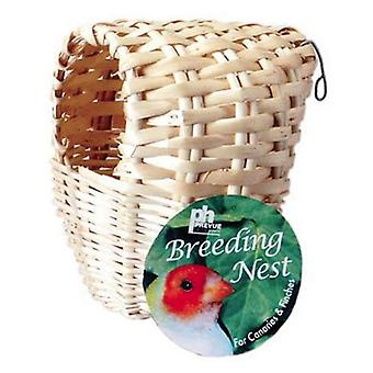 Prevue Parakeet All Natural Fiber Covered Bamboo Nest - 1 count