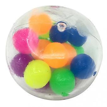 Geschicklichkeitsspiele Anti-Stress-Grappig Squeeze-Fidget Speelgoed squishy kleine Gadget Angst Stressabbau Hand bal knijpen zintuiglijke bal voor