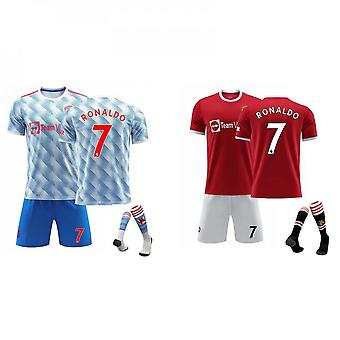 Cristiano Ronaldo Manchester United Jersey, Jersey No.7 Home And Away (adult Size)