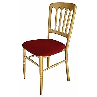 Set Of 4 Herisco Red & Gold Funtion Chair