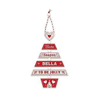 Geschichte & Heraldik Weihnachtsbaumschmuck - Bella 269800150 Holz handgefertigt