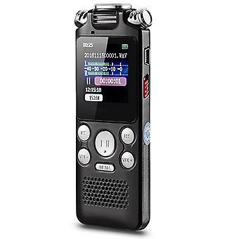 16GB digitální hlasový rekordér Pero Mini bezpáteřený barevný displej Aktivovaný zvukový diktafon