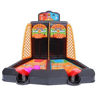ミニバウンスバスケットボールマシン子供おもちゃシューティングボードゲーム子供の初期教育玩具ゲームデスクトップおもちゃ