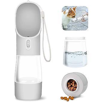 Hund dricksvattenflaska utomhus läckagesäker bärbart husdjur dricksvatten och matflaska