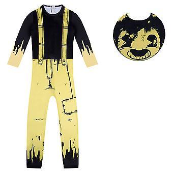 Kinder Bendy und die Tinte Maschine Cosplay Kostüm Halloween Kostüm