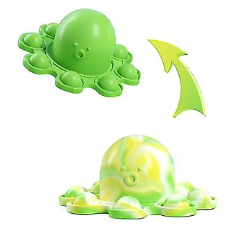 Sofirn Silicone Octopus Double-sided Flip Cover Children's Toy
