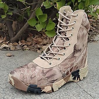 Nouvelles bottes militaires tactiques Sand Python Land Warfare Chaussures d'alpinisme 43 # dans les 261-265mmde la longueur du pied