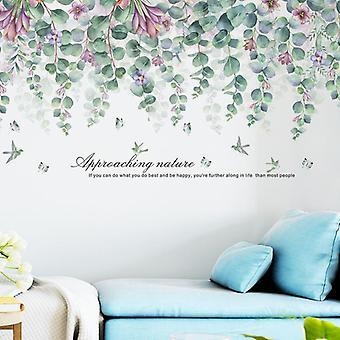 Podróż Flower Naklejki Ścienne Naklejki Home Decor Wallpaper Art