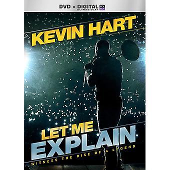 Kevin Hart - Lad mig forklare [DVD] USA import