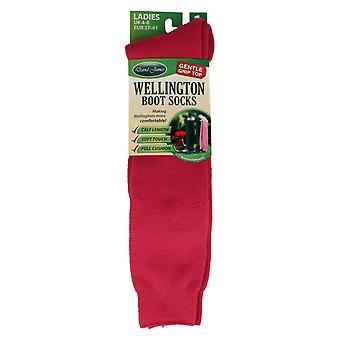 Ladies David James Wellington Boots Socks
