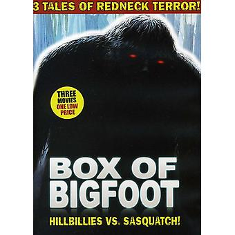 Box of Bigfoot: Hillbillies vs. Sasquatch [DVD] USA import