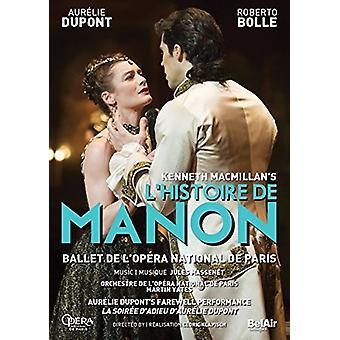 Macmillan's L'Histoire De Manon [DVD] USA import