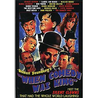 When Comedy Was King [DVD] USA import