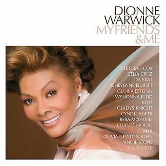 Dionne Warwick - My Friends & Me [CD] USA import