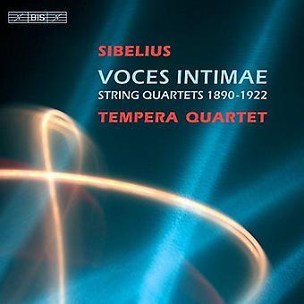 J. Sibelius - Sibelius: Voces Intimae [CD] USA import