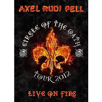 Pell, Axel Rudi - Live on Fire [DVD] USA import