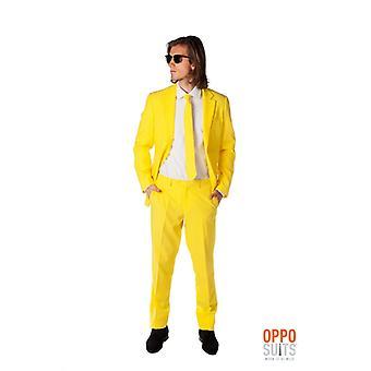 Yellow fellow yellow suit Mister yellow Opposuit slimline Premium 3-piece EU SIZES