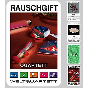 Drogen Quartett Rauschmittel Quartett Kartenspiel