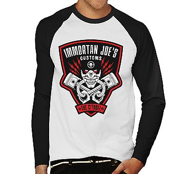 Immortan Joes Customs Mad Max Fury Road Men's Baseball Long Sleeved T-Shirt