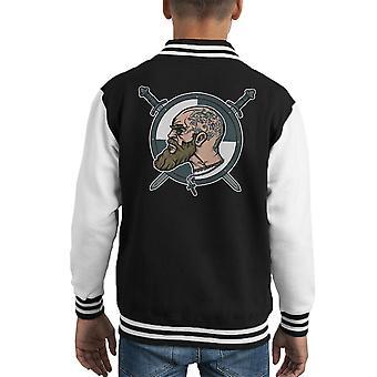 Norse Warlord Vikings Kid's Varsity Jacket