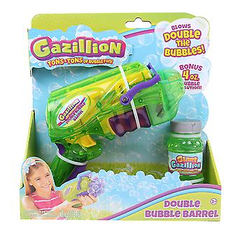 Gazillion 36257 Double Bubble Barrel Blaster