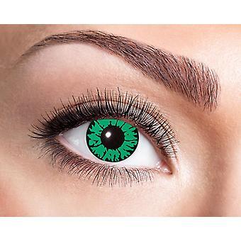 Reptile eyes snake contact lenses