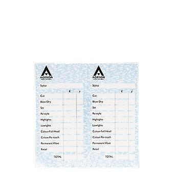 Agenda Blue Check Pads (Pack Of 12)