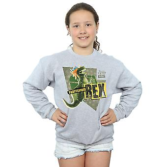 Disney Girls Toy Story Partysaurus Rex Sweatshirt
