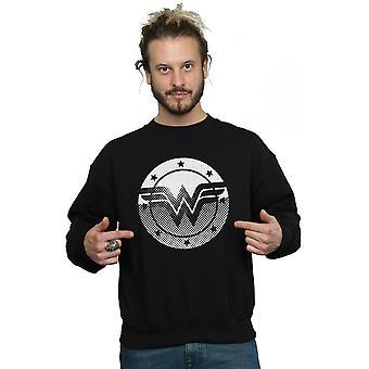 DC Comics miesten ihme nainen Spot logo College pusero