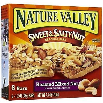 Nature Valley Sweet & sărat Nut prăjită piuliță mixtă