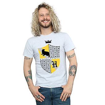 Harry Potter Herren Hufflepuff Shield T-Shirt
