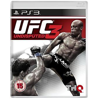 UFC Kiistaton 3 (PS3) - Uusi