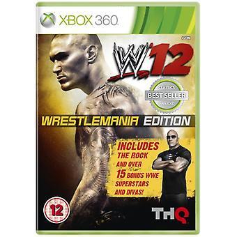 WWE 12 Wrestlemania Edition (Xbox 360) - Neu