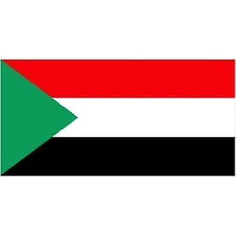 Sudan Flagge 5 x 3 ft
