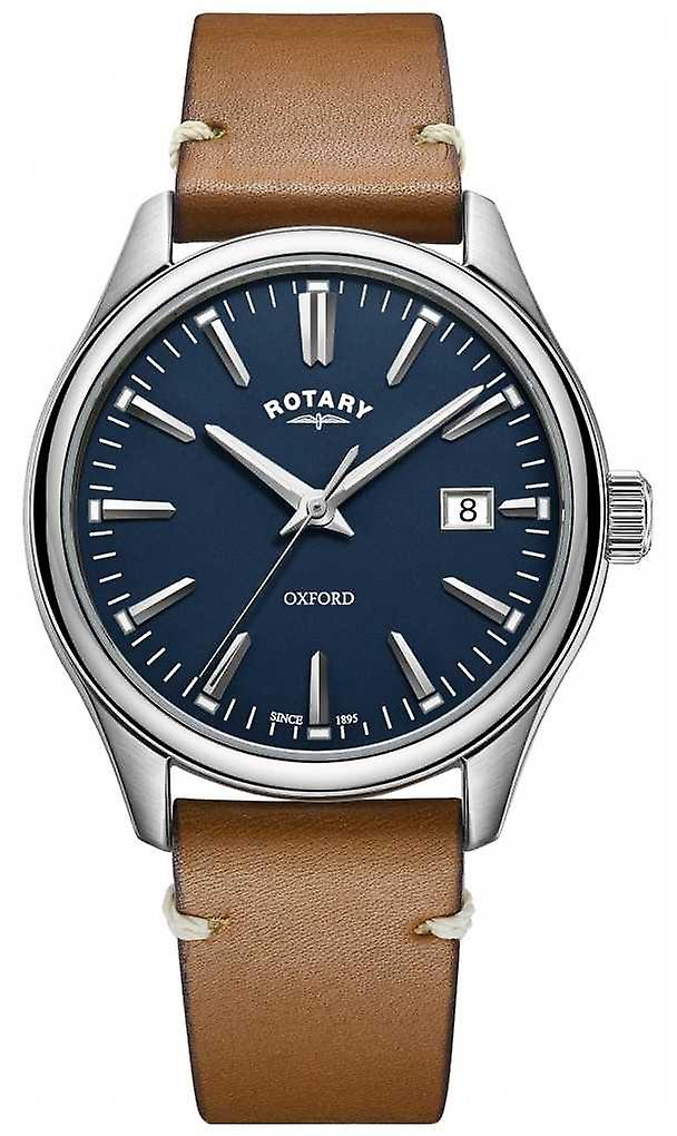 Rotary Mens oxford Strap Stainless Steel GS05092/05 Watch