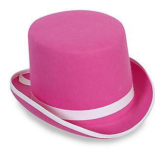 Sylinder Hat rosa lue