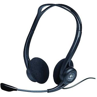 Logitech PC 960 PC headset USB Stereo On-ear Black