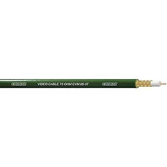 Cordial CVM 06-37 AV cable 1 x 0.22 mm² Green Sold per metre