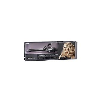 Babyliss PRO: Pro Black keramische Dial-a-warmte Tong 16mm