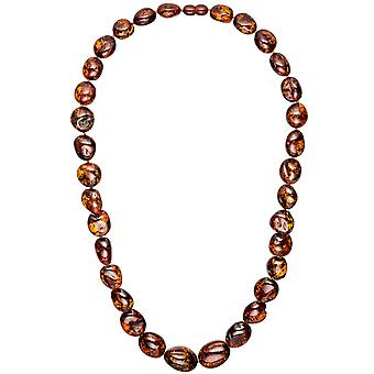 Amber necklace chain 60 cm necklace course amber necklace amber necklace