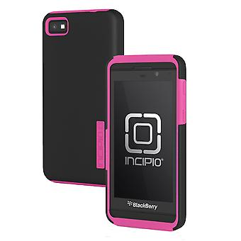 5 Pack -Incipio - DualPro Case for BlackBerry Z10 Cell Phones - Black/Neon Pink