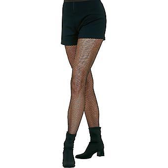 Visnet panty zwart zeer fijne accessoire carnaval Halloween