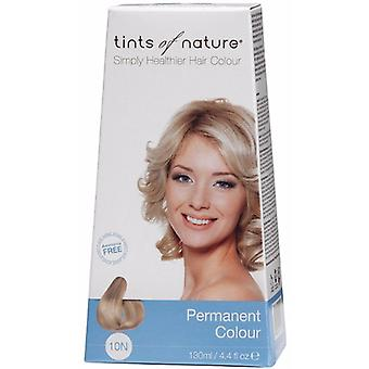 Tints of Nature, naturliga platina blond (10N), 130ml