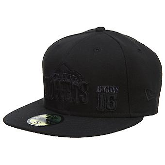 New Era Denver Nuggets Fitted Hat Mens Style : Hat657